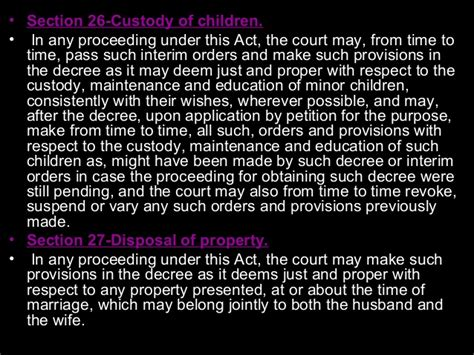 section 27 of hindu marriage act ll b i fl u 1 sources of hindu law