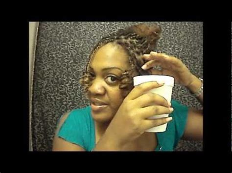 how to make the ends of your kinky twists curly ehow 3 different ways to curl kinky twists youtube