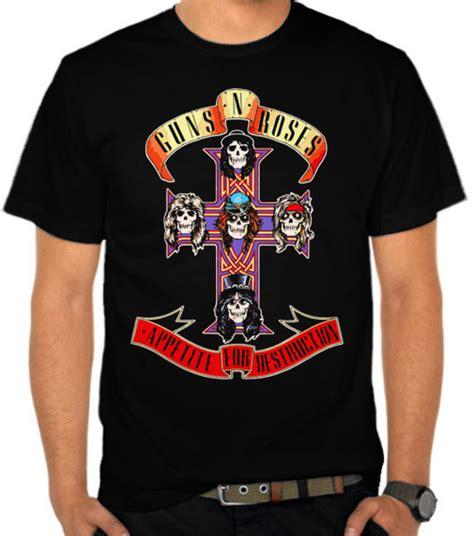Kaos T Shirt Dota 15 jual kaos guns n roses 6 guns n roses satubaju