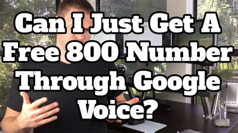 how to get a toll free 800 number through voice