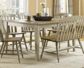 6 Piece Dining Room Set by Liberty Furniture Al Fresco 6 Piece 74x40 Dining Room Set