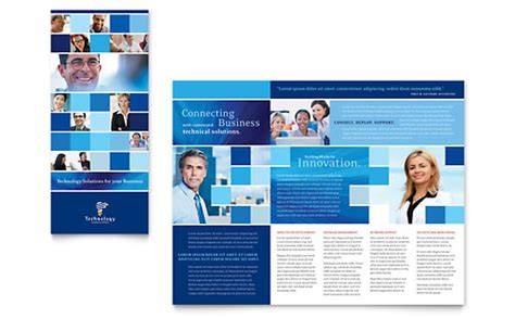 technology templates brochures flyers newsletters