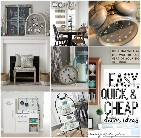 easy cheap home decor ideas updated home tour january decorating recap house by hoff