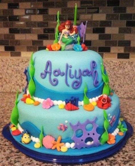 Ariel Birthday Cake Decorations by 245 Best Images About Mermaid Cakes On