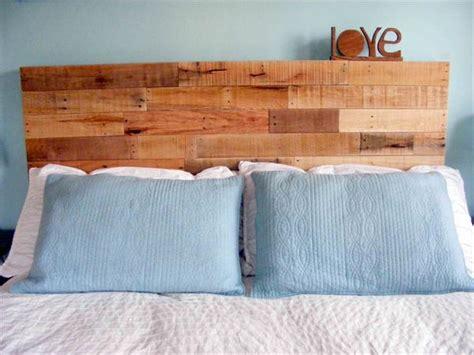 wood pallet headboard diy diy reclaimed wooden pallet headboard pallet furniture plans