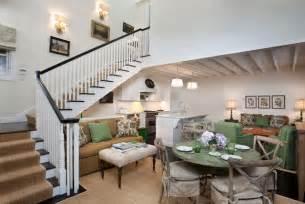 nantucket meets mountain eclectic living room