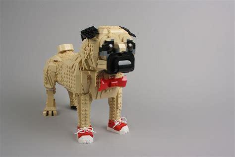 pixel pug pug lego carlin pixel chien creative pugs pugs carlin