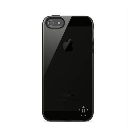 Belkin Grip Sheer For Iphone Se 5 5s Belkin Grip Sheer Iphone Se 5s 5 Black Iphone Cases Nl