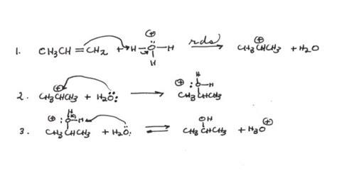 1 hexene hydration more on alkenes