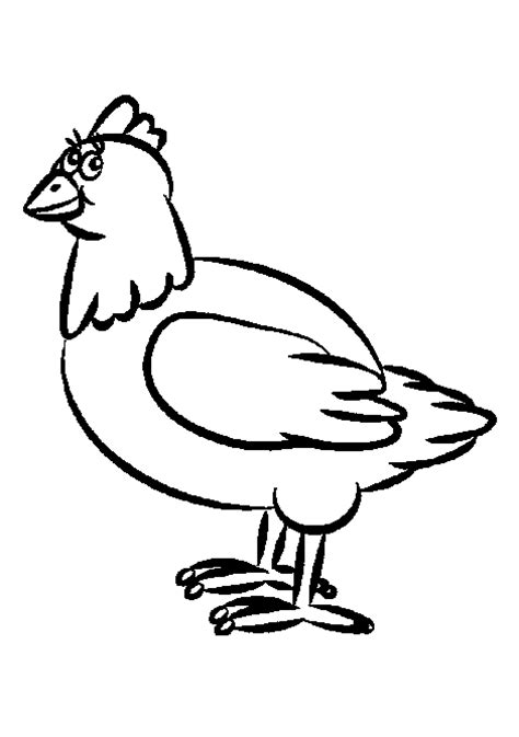 hens chickens coloring pages ideas
