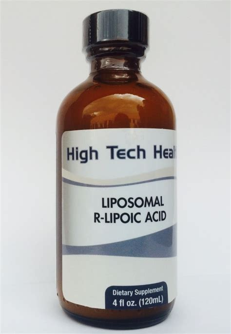 R Lipoic Acid For Detox by Liposomal Detox Cocktail Whole Cleanse