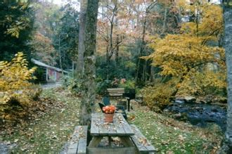 wayah creek cottages gardens franklin chamber of commerce