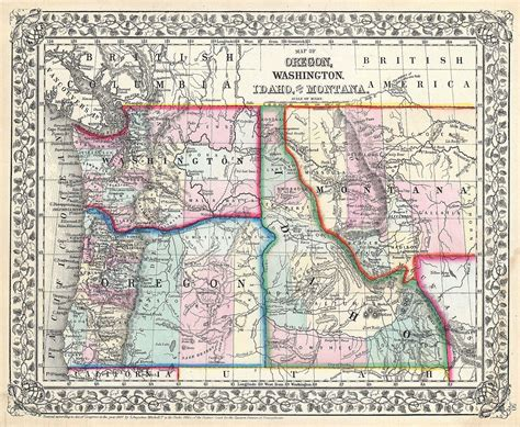 a map of oregon and washington original file 3 500 215 2 874 pixels file size 3 6 mb