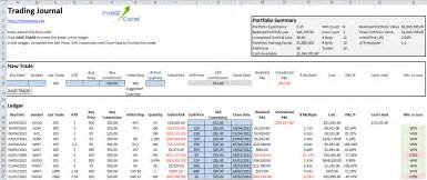 options trading plan template options trading journal spreadsheet