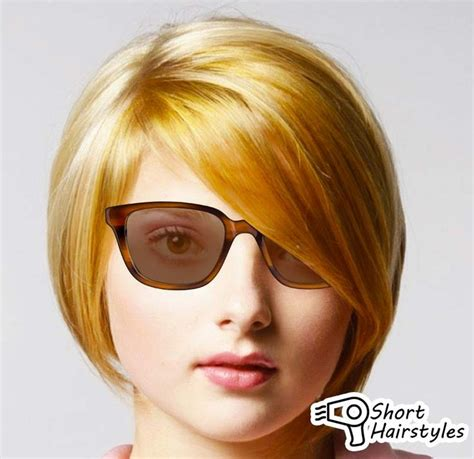 hairstyles for round face with glasses short hairstyles for round faces and glasses 2014 short