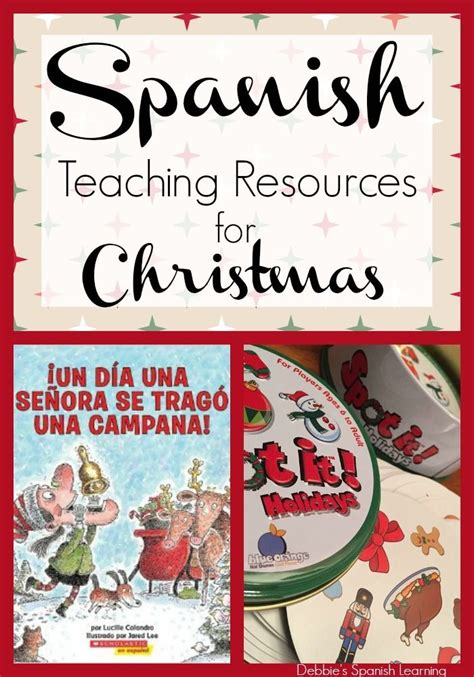 printable christmas games in spanish 17 best images about holiday activities in spanish on