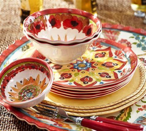 Pottery Barn Kids Window Treatments - cabo melamine dinnerware contemporary dinnerware by pottery barn