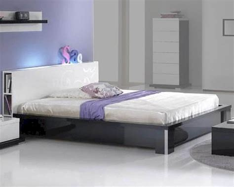 modern high gloss finish queen bedroom set made in italy modern high gloss finish queen bed made in italy 44b2512