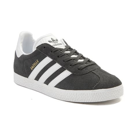 youth adidas gazelle athletic shoe gray 1436252