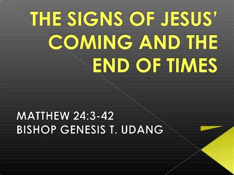 the coming summer exploring the signs of jesus return books the signs of jesus coming and the end of the times part1