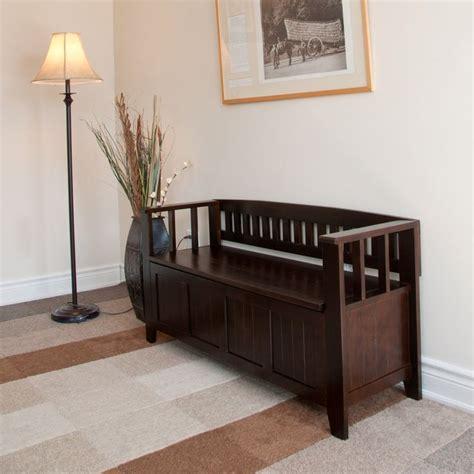 entry bench canada simpli home acadian entryway storage bench indoor
