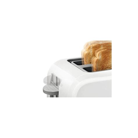 Small White Toaster Bosch Tat3a011gb White Toaster Toasters Small Kitchen