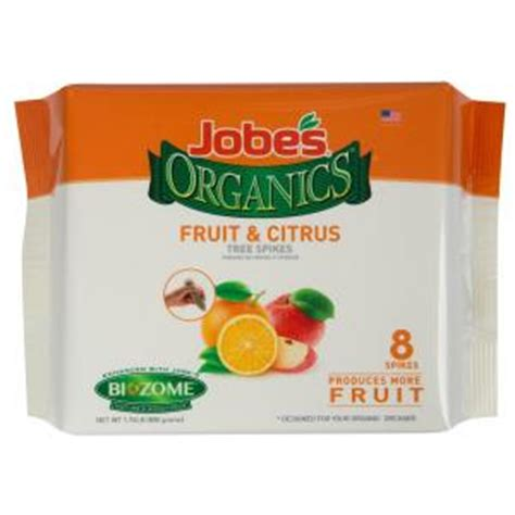 jobe s organics 1 76 lb organics fruit and citrus
