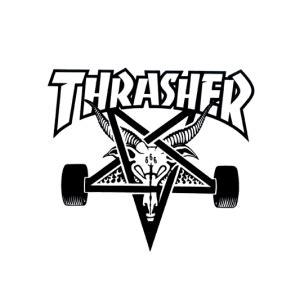 thrasher skate goat logo thrasher skateboarding clothing accessories active