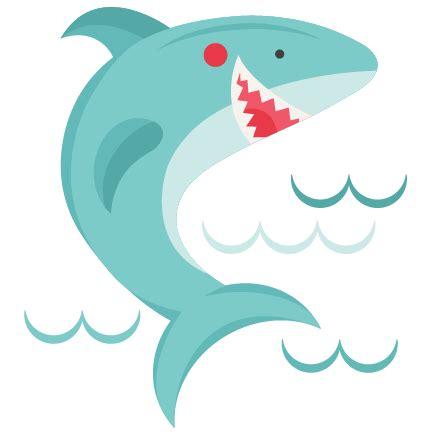 baby shark png smiling shark svg scrapbook cut file cute clipart files