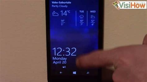 pattern screen lock for lumia 535 change the wallpaper on microsoft lumia 535 visihow