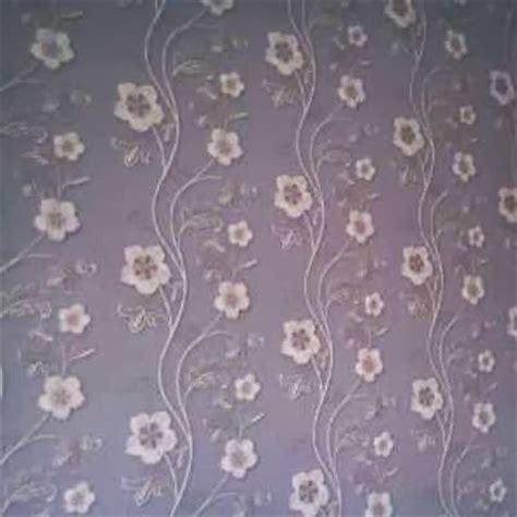 wallpaper bunga elegan desain rumah ideal memilih wallpaper ruang tamu yang elegan