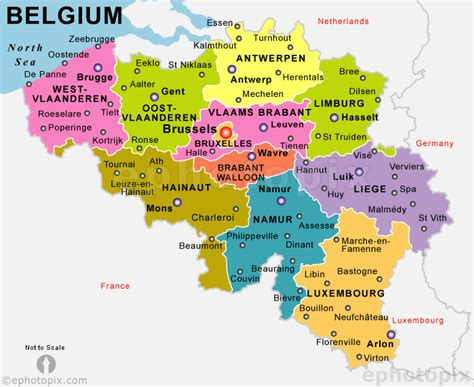 belgica map maps of europe region country