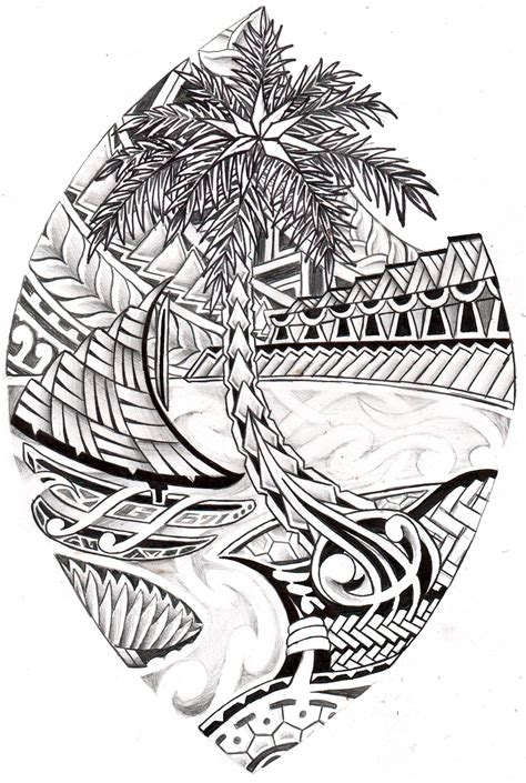 chamorro tribal tattoo guam tribal seal nezian tales guam