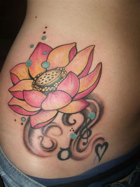 Pictures Of Lotus Flower Tattoos 43 Attractive Lotus Flower Designs Sortra
