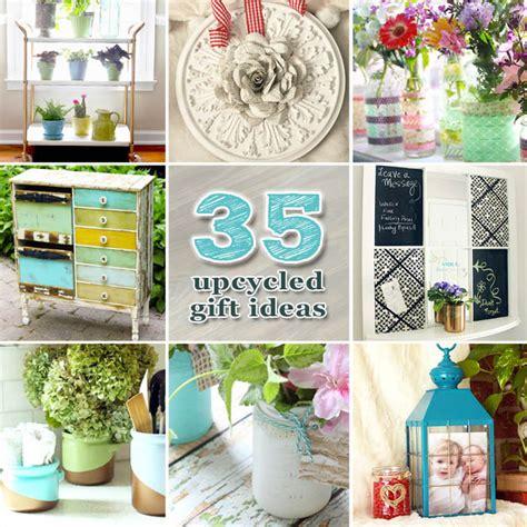 35 upcycled diy gift ideas