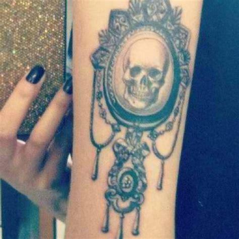 cameo tattoo 20 skull cameo designs