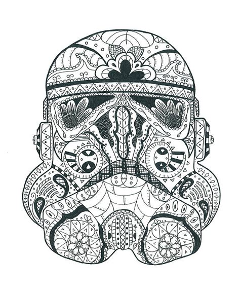 stormtrooper 1 greeting card for sale by malina alexander