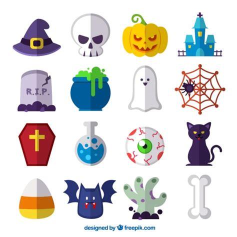imagenes de halloween vector elementos de halloween descargar vectores gratis
