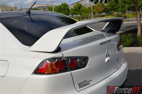 mitsubishi evo spoiler evo x rear spoiler automotive