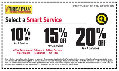 tires plus 10 20 services printable coupon