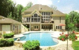House Plans With Walkout Basement And Pool by House Plans With Walkout Basement And Pool Beautiful