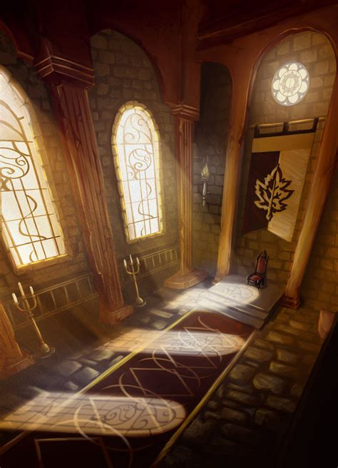 Castle Throne Room by Castle Araluen Throne Room By Paintedthoughts On Deviantart