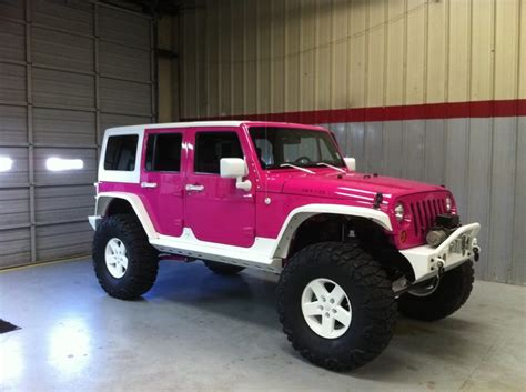 pink jeep car 117 best the pink jeep images on car