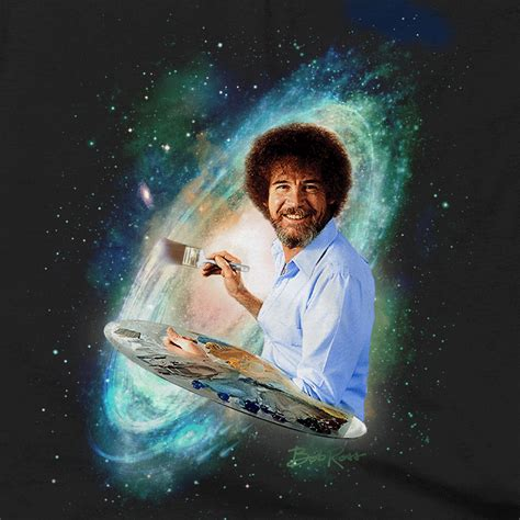 bob ross painting the universe bob ross galaxy t shirts hoodies bob ross and bobs