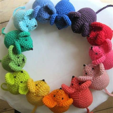 cute mouse pattern cute mice crochet items pinterest