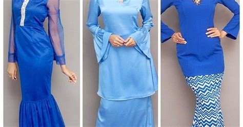 Baju Big Stripe Blouse Ays studiofrost quot morning hues of blue for raya our hari raya collection are available in
