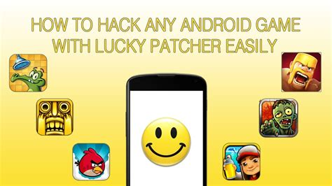 how to mod game files on android how to crackhack any android game with lucky patcher quick