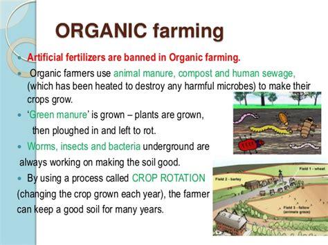 Organic Farming Essay by 1984 Essay