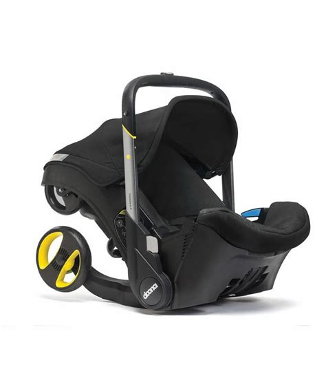 and black car seat doona infant car seat black