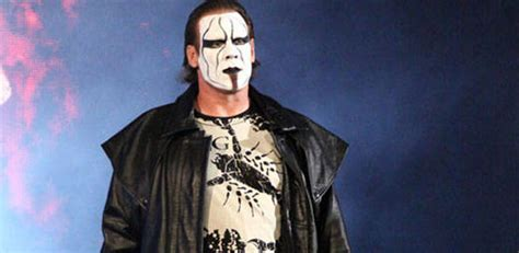 wrestler sting w gis blonde hair photos from sting s wwe debut at survivor series pwmania